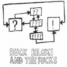 "BUCK BILOXI AND THE FUCKS - Obama is a Cyborg 7"" red vinyl"